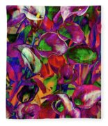 In Living Color Fleece Blanket