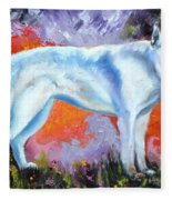 In Shepherd Heaven Fleece Blanket