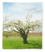 In Spring's Embrace Fleece Blanket