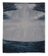 In The Depths Of Truth Fleece Blanket