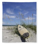 In The Dunes Fleece Blanket