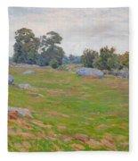 In The Fields Fleece Blanket