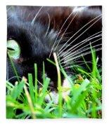In The Grass Fleece Blanket