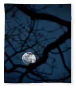In The Light Of Night Fleece Blanket