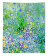 In The Meadow Fleece Blanket