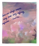 In The Sky 2016 Fleece Blanket