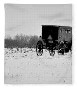 In The Snow Fleece Blanket