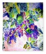 In The Vineyards Fleece Blanket