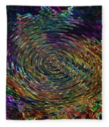 In The Whirl Of Light Fleece Blanket