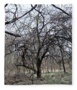 In The Woods Fleece Blanket