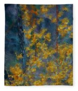 In The Woods Fleece Blanket
