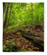 In The Woods_2 Fleece Blanket