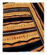 In Theory Fleece Blanket