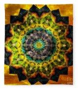 In Tune Mandala Fleece Blanket