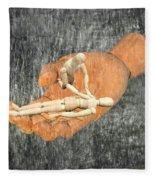 In Your Hands Fleece Blanket