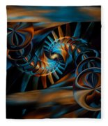 Inception Abstract Fleece Blanket