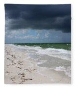 Incoming Storm Fleece Blanket