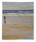 Incoming Tide Fleece Blanket