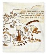 Indangered Species Fleece Blanket