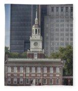 Independence Hall Fleece Blanket