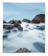 Indian Beach At Ecola State Park, Oregon  Fleece Blanket