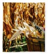 Indian Corn Fleece Blanket