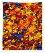 Indian Summer ... Fleece Blanket