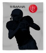 Indiana Football Fleece Blanket