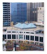 Indianapolis, Indiana Fleece Blanket