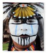 Indigenous People Canada 3 Fleece Blanket