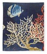 Indigo Ocean - Silence Of The Deep Fleece Blanket