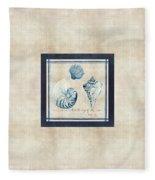 Indigo Ocean - Song Of The Sea Fleece Blanket