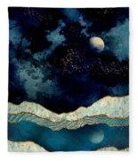 Indigo Sky Fleece Blanket