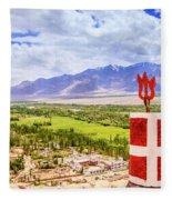 Indus Valley Fleece Blanket