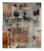 Industrial Abstract - 01t02 Fleece Blanket