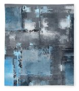 Industrial Abstract - 10t Fleece Blanket