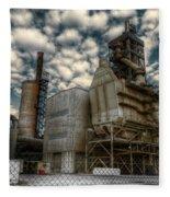 Industrial Disease Fleece Blanket