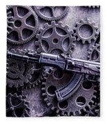 Industrial Firearms  Fleece Blanket