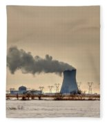 Industrialscape Fleece Blanket