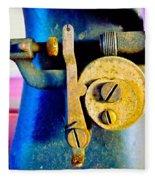 Industry In Color Fleece Blanket