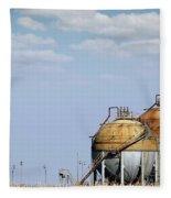 Industry Tank For Gas And Liquid Fleece Blanket