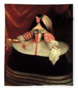 Inez De Zuniga - Countess Of Monterrey Fleece Blanket
