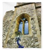 Infamous White Tower Of London Fleece Blanket