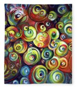 Infinite Cosmic - Abstract Fleece Blanket