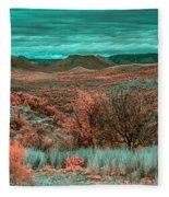 Infrared Arizona Fleece Blanket
