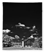 Infrared Farm Fleece Blanket
