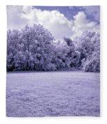 Infrared In Glasgow Ky Fleece Blanket