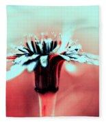 Infrared Wildflower Fleece Blanket