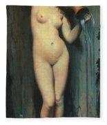 Ingres: The Spring, 1856 Fleece Blanket