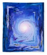 Inner Journey Fleece Blanket
